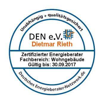 DEN-Signet für den Fachbereich Wohngebäude