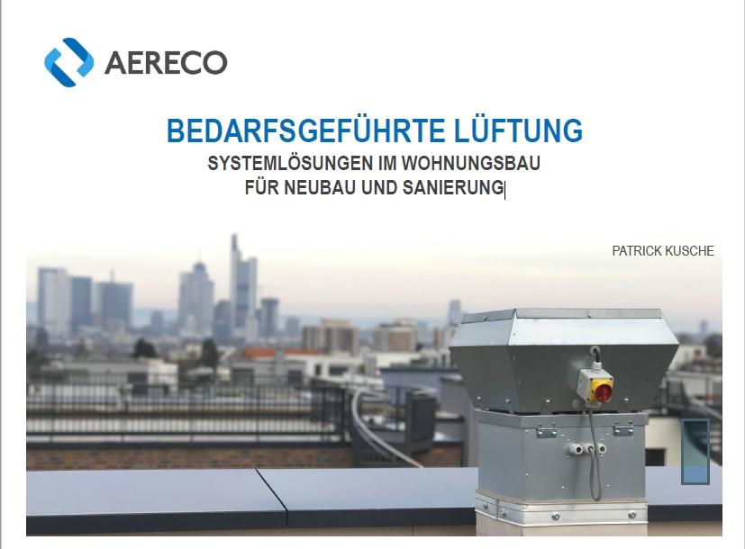 """Vortrag """"Bedarfsgeführte Lüftung"""". Systemlösungen im Wohnungsbau für Neubau und Sanierung"""