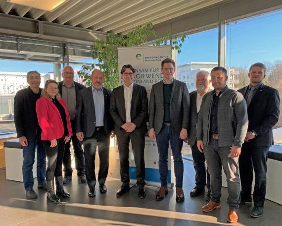 Treffen bei der Energieagentur Rheinland-Pfalz